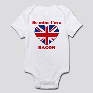 Bacon, Valentine's Day Infant Bodysuit