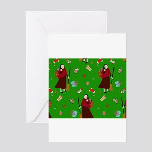 christmas Witch Befana Greeting Cards