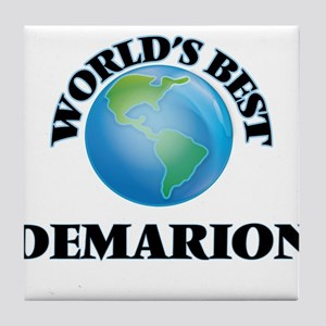 World's Best Demarion Tile Coaster