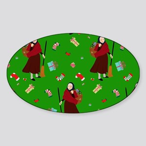 christmas Witch Befana Sticker