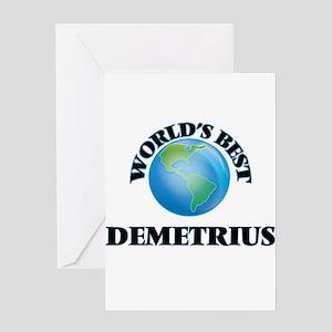 World's Best Demetrius Greeting Cards