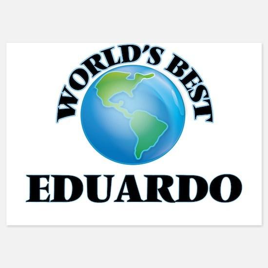 World's Best Eduardo Invitations
