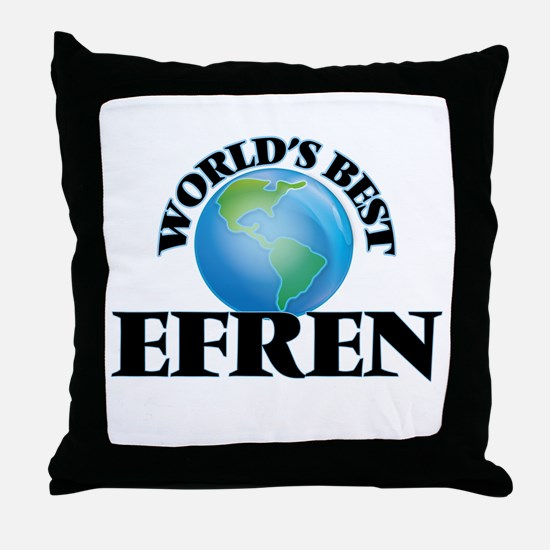World's Best Efren Throw Pillow
