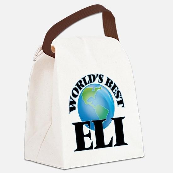 World's Best Eli Canvas Lunch Bag