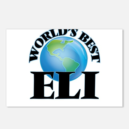 World's Best Eli Postcards (Package of 8)