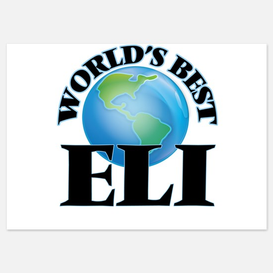 World's Best Eli Invitations