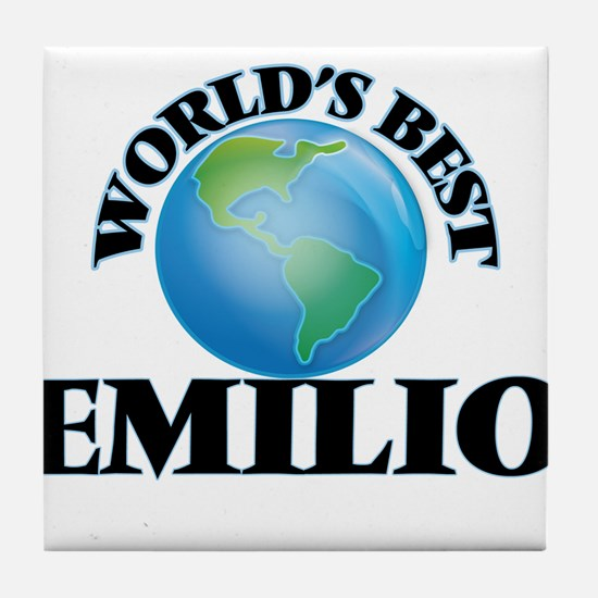 World's Best Emilio Tile Coaster
