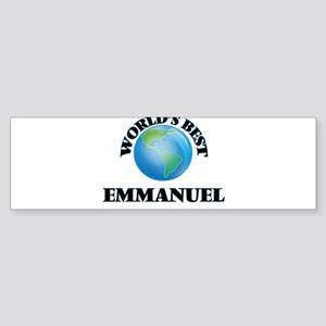 World's Best Emmanuel Bumper Sticker