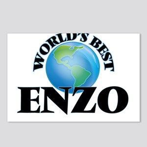 World's Best Enzo Postcards (Package of 8)