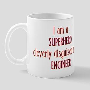 Superhero Engineer Mug