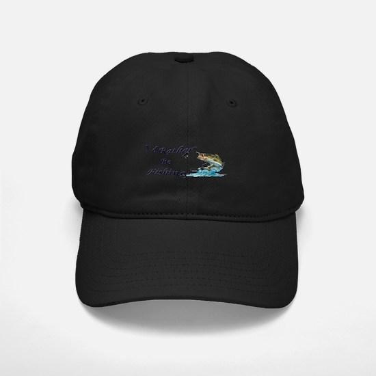 Rather Be Fishing Baseball Hat