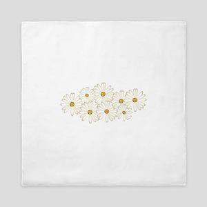 Daisy Flowers Queen Duvet
