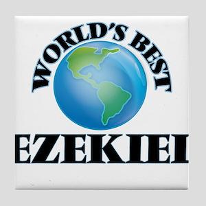 World's Best Ezekiel Tile Coaster