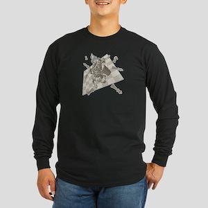 Lucky Chess Juju Charm Long Sleeve Dark T-Shirt