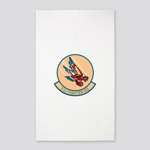 23d_fighter 3'x5' Area Rug