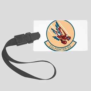 23d_fighter Large Luggage Tag