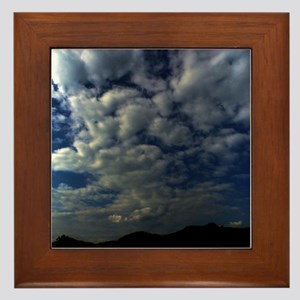 Storm Clouds Framed Tile