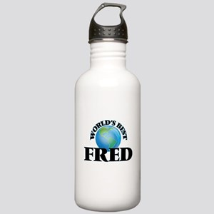 World's Best Fred Stainless Water Bottle 1.0L