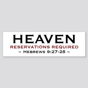 Heaven - Bumper Sticker
