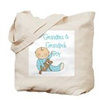 Grandma and Grandpa's Boy Tote Bag
