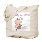 Mommy and Daddy's Girl Tote Bag