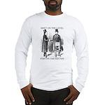 Masons meet on the level Long Sleeve T-Shirt