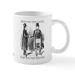 Masons meet on the level Mug