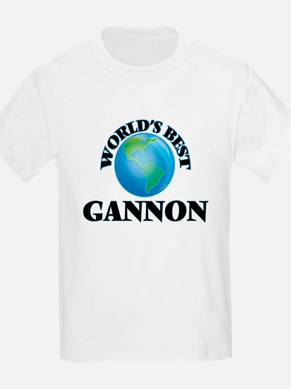 World's Best Gannon T-Shirt