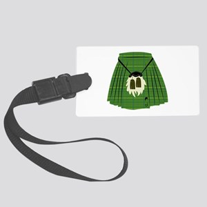Scottish Kilt Luggage Tag