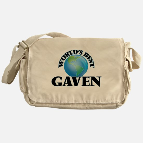 World's Best Gaven Messenger Bag