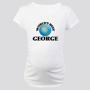 World's Best George Maternity T-Shirt