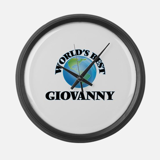 World's Best Giovanny Large Wall Clock