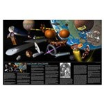 Imaginary Spaceships Large Poster