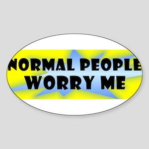 bumper normal people Sticker
