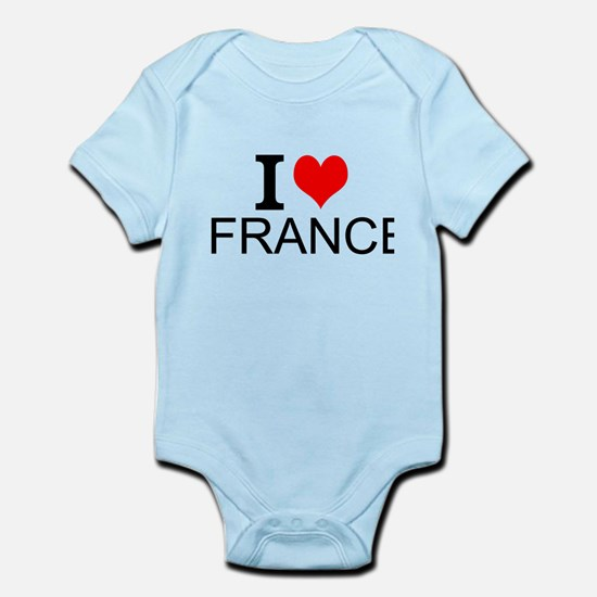 I Love France Body Suit