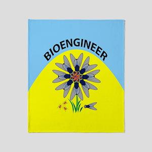 Bioengineer Illusion Color Throw Blanket