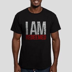I Am Redeemed - Black/Red T-Shirt