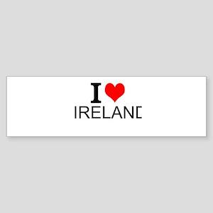 I Love Ireland Bumper Sticker