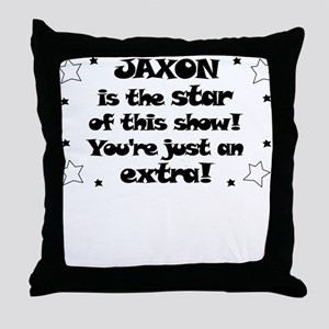 Jaxon is the Star Throw Pillow