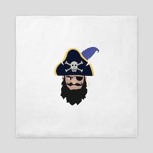 Pirate Head Queen Duvet