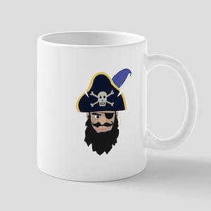 Pirate Head Mugs