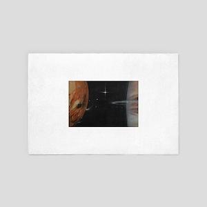 Io and Jupiter 4' x 6' Rug