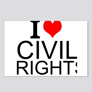 I Love Civil Rights Postcards (Package of 8)