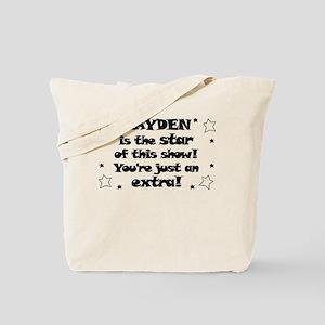 Kayden is the Star Tote Bag