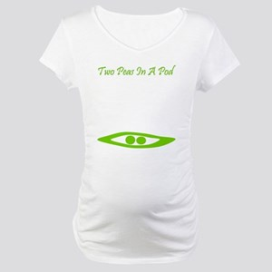 Two Peas In A Pod Maternity T-Shirt