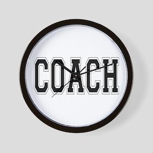 Coach Wall Clock