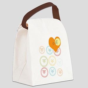 Cute Thank you Canvas Lunch Bag