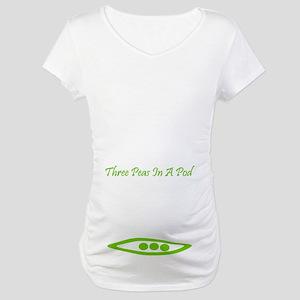 Three Peas In A Pod Maternity T-Shirt