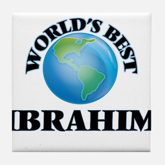 World's Best Ibrahim Tile Coaster