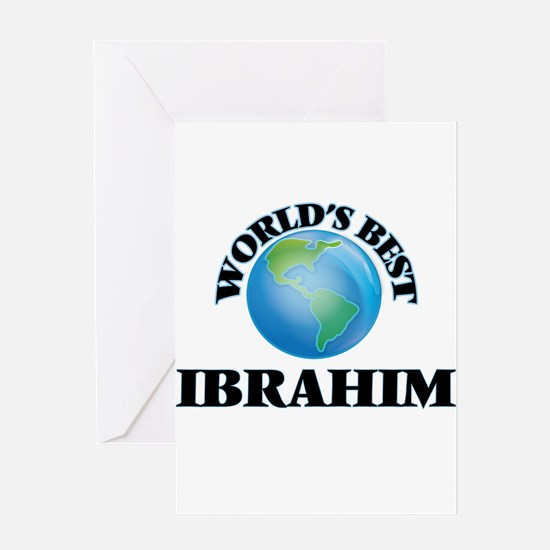 World's Best Ibrahim Greeting Cards